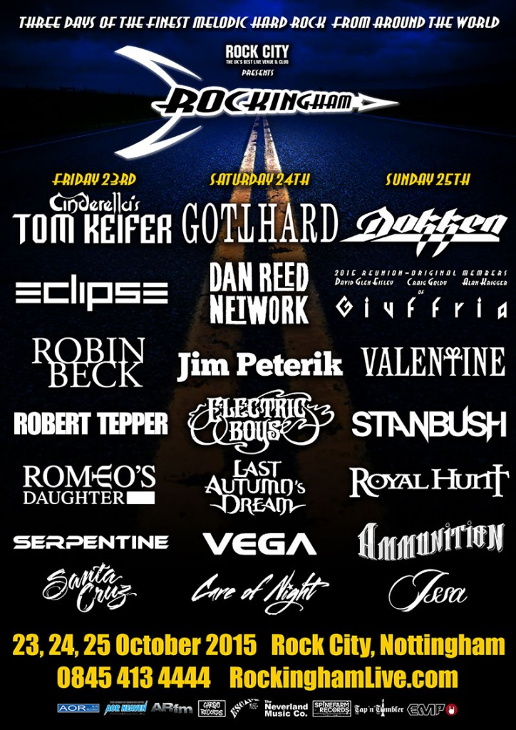 Complete line-up